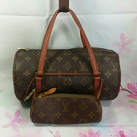 a64149c7cdcc Louis Vuitton Handbags - Auth Vintage Louis Vuitton Papillon 26 And Pouch